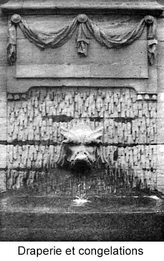 Draperies et congelations de la fontaine d'Arnouville