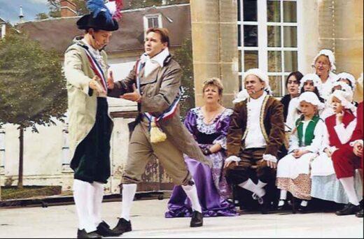 Une ténébreuse à Affaire à Arnouville - Journée du Patrimoine 2005