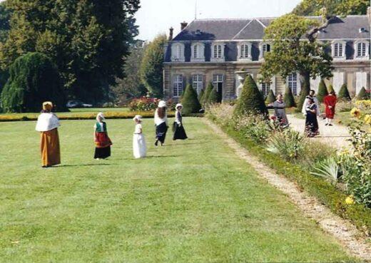 Journées du Patrimoine, promenade dans les jardins du Château d'Arnouville