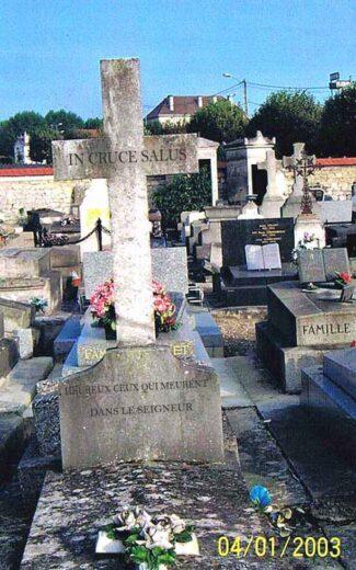 Tombe de Mme Dinant à Arnouville