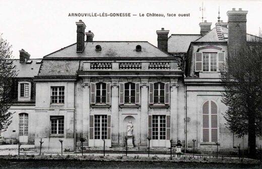 Le Château d'Arnouville - Face Ouest