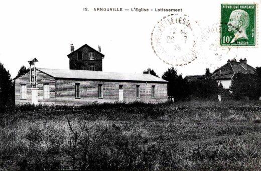 Chapelle Saint Eustache à Arnouville en 1924