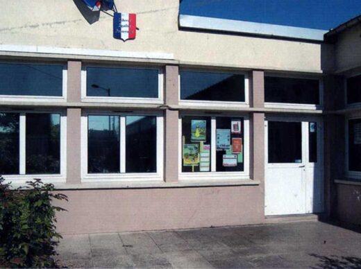 Ecole Claude Demange à Arnouville, l'entrée.