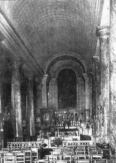 Intérieur de l'église Saint Denys d'Arnouville