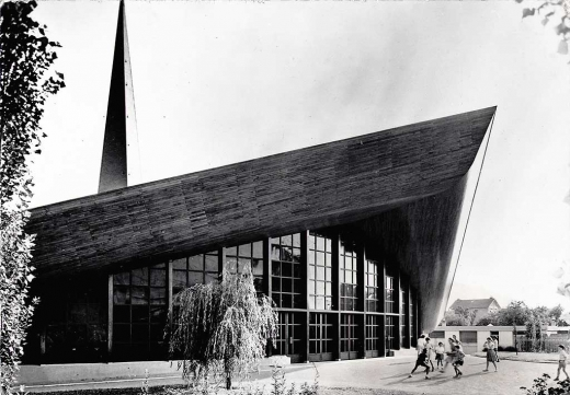 Notre Dame de la Paix- Extérieur 1960