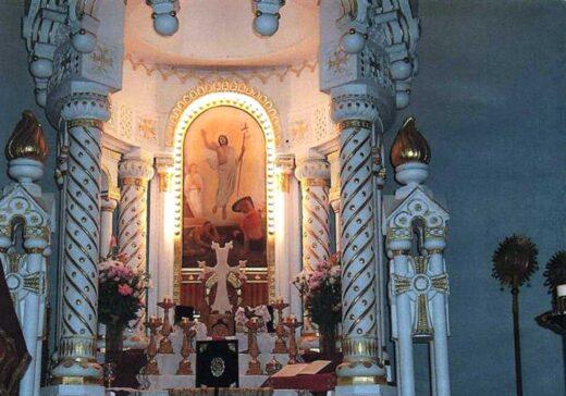 Peinture du chœur de l'église Sainte Croix de Varak