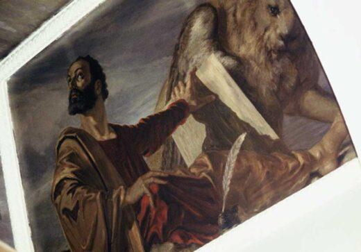 Peinture sous le dôme d'Ariel Agemian