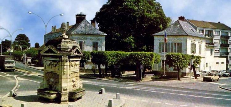L'ancienne mairie de la commune d'Arnouville