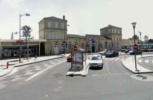 Gare SNCF d'Arnouville en 2008