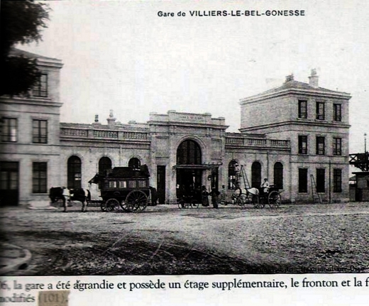 Gare Arnouville Villiers le Bel Gonesse vers 1906