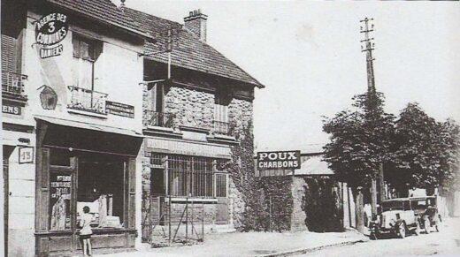 La Poste d'Arnouville vers 1918