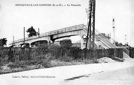 Arnouville et la Passerelle