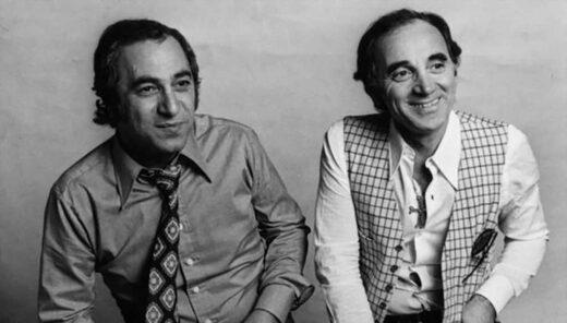 Georges Garvarentz et Charles Aznavour