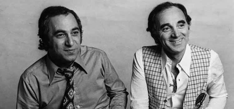 Featured Georges Garvarentz et Charles Aznavour