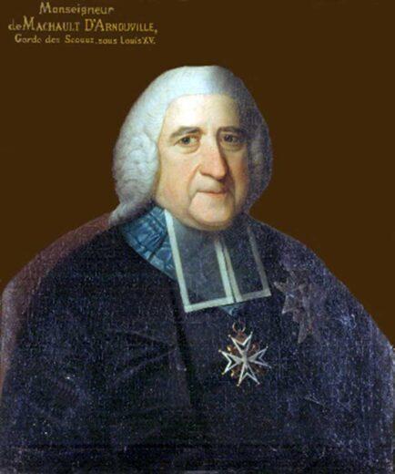 Comte Jean Baptiste de Machault d'Arnouville