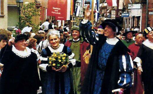 Fête de la saint Michel Michaelismesse à Miltenberg