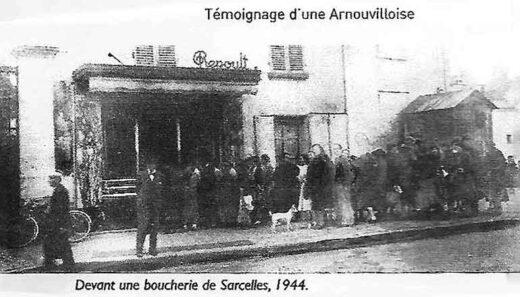 Boucherie de Sarcelles en 1944 - Témoignage d'une Arnouvilloise