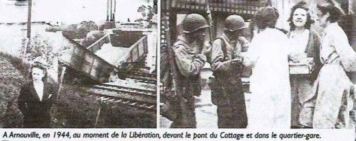 Arnouville : Pont du Cottage détruit, libération au quartier de la Gare