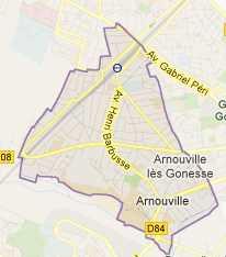 Plan Arnouville 95400