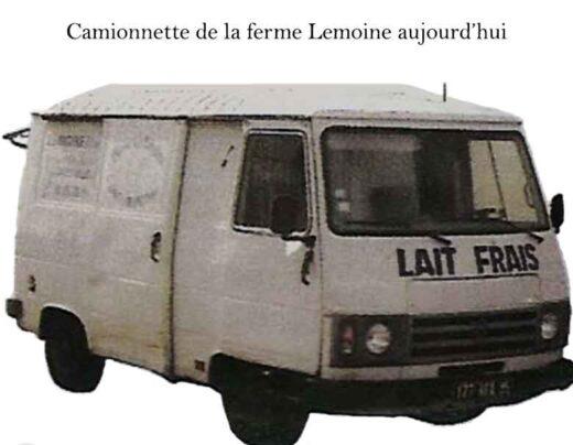 Camionnette de la ferme Lemoine d'aujourd'hui