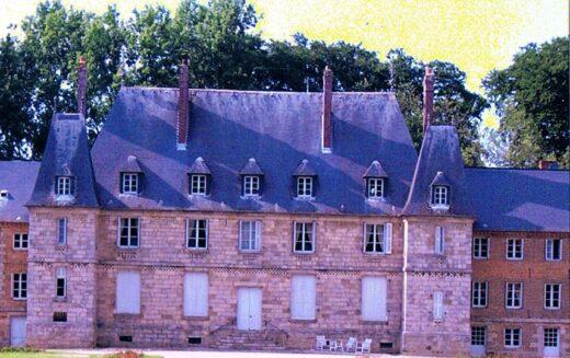 Façade du château d'Ermenouville