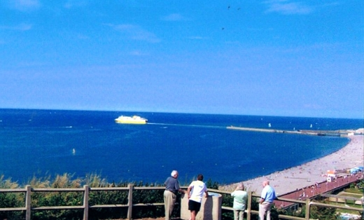 Vue de Dieppe