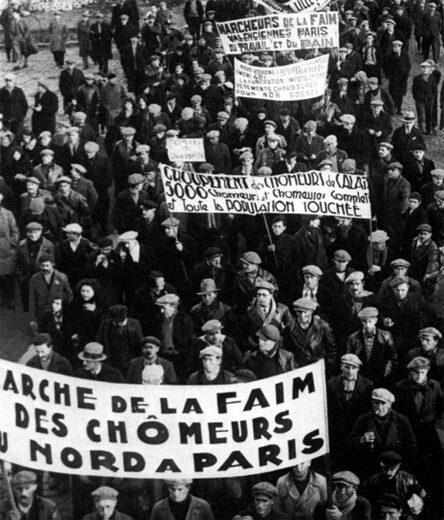 Lutte contre le chômage au cours des années 1930 à Arnouville