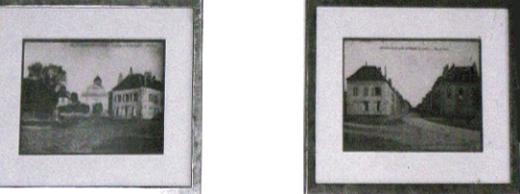 Cartes postales d'Arnouville-lès-Gonesse sur le mur de la mairie