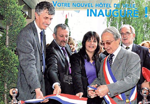 Votre nouvel hôtel de ville inauguré !