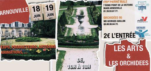 Featured Exposition Les Arts et Les orchidées - Arnouville
