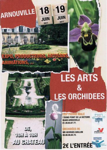 Agenda : Exposition Les Arts et Les orchidées - 18 et 19 Juin 2011 - 10h à 18h - Arnouville