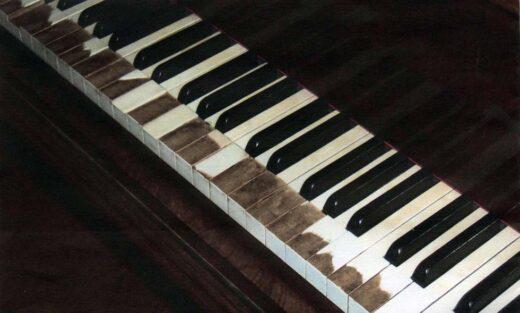 Les touches du piano de Gabriel Fauré