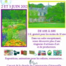 Jardin du château d'Arnouville le 2 et 3 juin 2012, L'I.T.E.P. Pierre Male