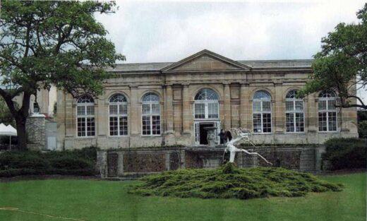L'Orangerie au château d'Arnouville de Jean-Baptiste de Machault