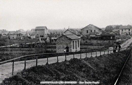 Avenue Denis Papin - Infirmerie de Campagne -- Arnouville 1915
