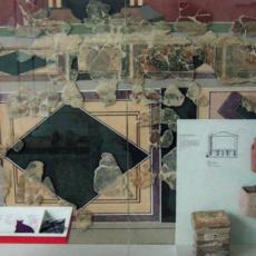 Une ancienne fresque a été retrouvée à Arnouville