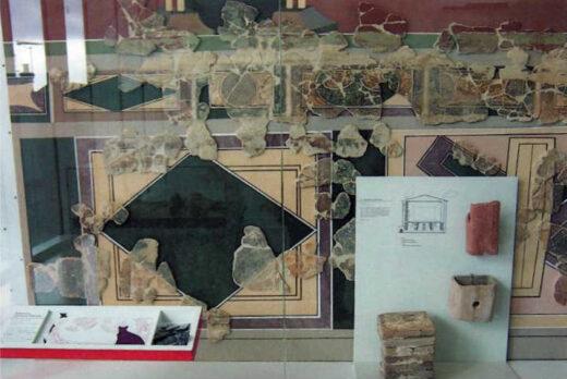 Fresque trouvée à Arnouville