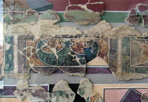 Fresque trouvee a Arnouville Val d Oise
