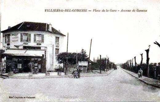 Souvenirs Mars 1917 - Villiers-Le-Bel - Gonesse - Place de la Gare - Avenue de Gonesse