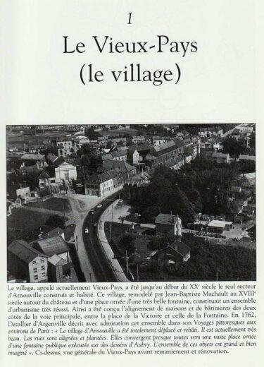 Le vieux Pays ( le village) à Arnouville