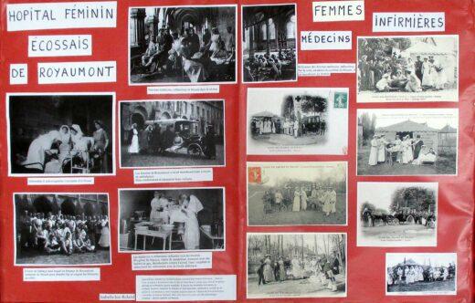 Les infirmières pendant la guerre