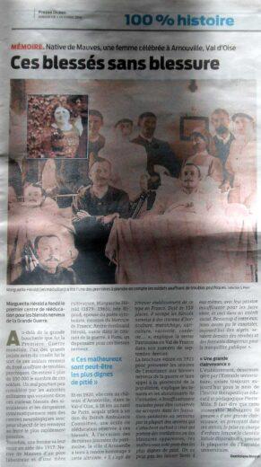 Presse Océan n876- Article sur Mme Hérold