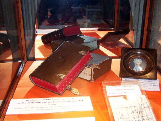 Des souvenirs divers du Comte de Machault