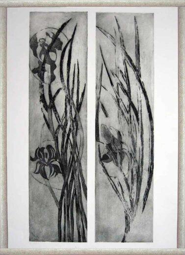 2e Peinture des Iris de Annie Dilanian