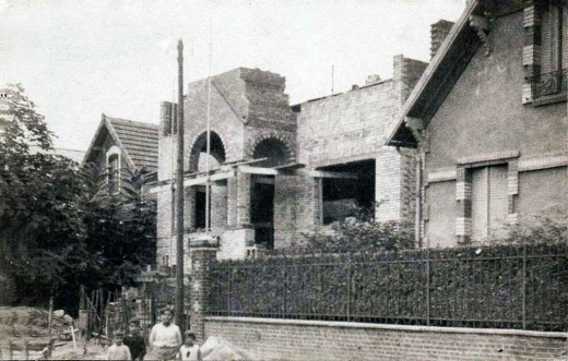 Construction du couvent des soeurs Arméniennes