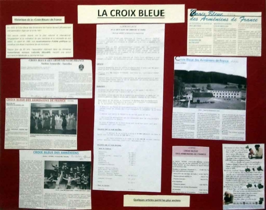 Panneau La Croix Bleue
