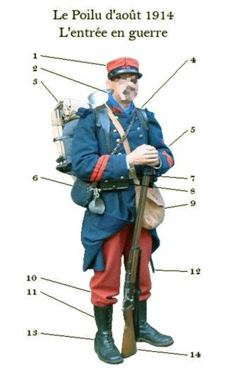 Le Soldat Robert - Poilu