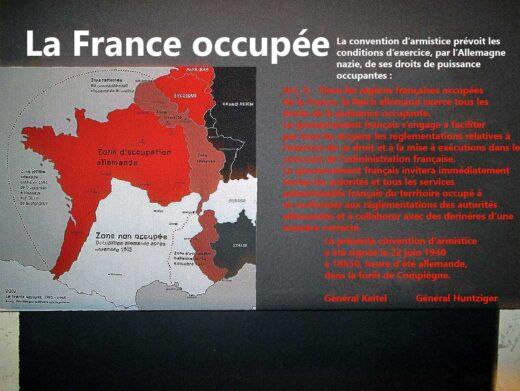 La France Occupée de 1940 à 1944