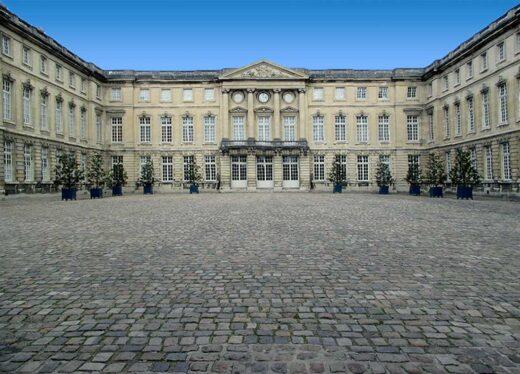 L'entrée du château de Compiègne