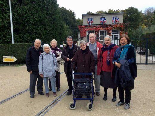 Le groupe d'Arnouville en visite au musée de l'Armistice